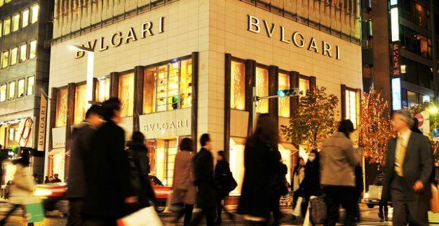 חנות תכשיטים בולגרי LVMH
