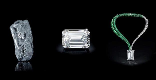 שרשרת יהלום יהלומים כריסטיס
