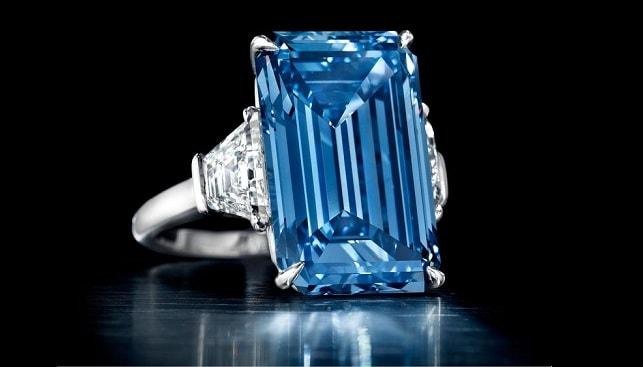 יהלום כחול אופנהיימר בלו