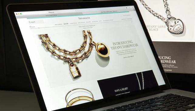 טיפאני תכשיטי יהלומים אונליין