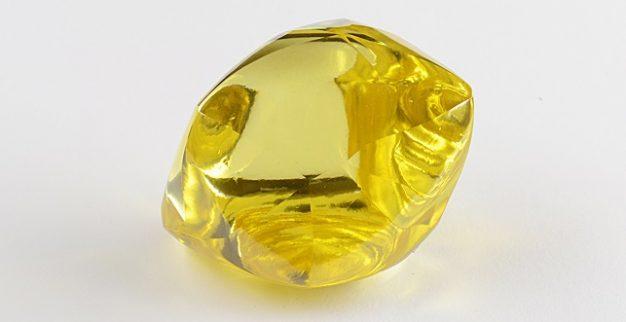 יהלום צהוב אלרוסה רוסיה