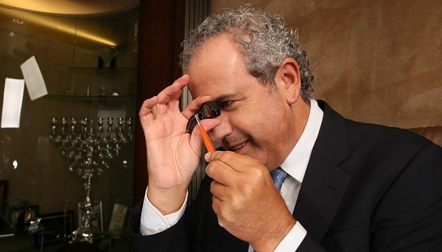 נשיא הבורסה יורם דבש