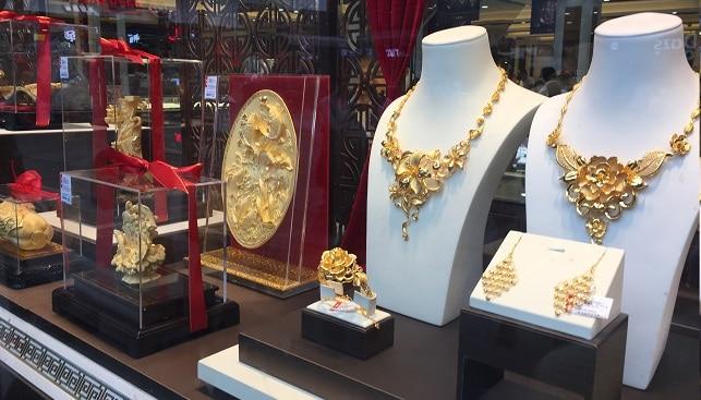 תכשיטי זהב הונג קונג