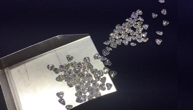 יהלומים מלוטשים ליטוש לב
