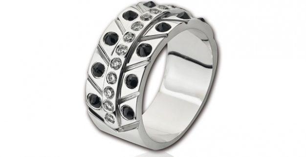 טבעת יהלומים Novo Hombre