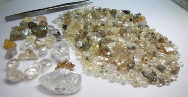 יהלומי גלם לוקפה יהלומים