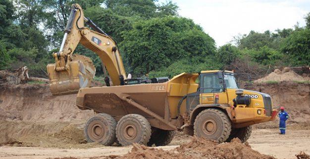 מכרה יהלומים מרנגה זימבבואה