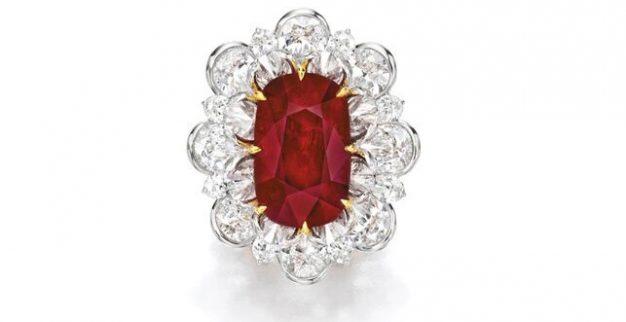 טבעת רובי יהלומים סותבי'ס