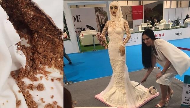 העוגה היקרה בעולם יהלומים