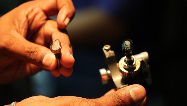 ליטוש יהלומים מעבדה