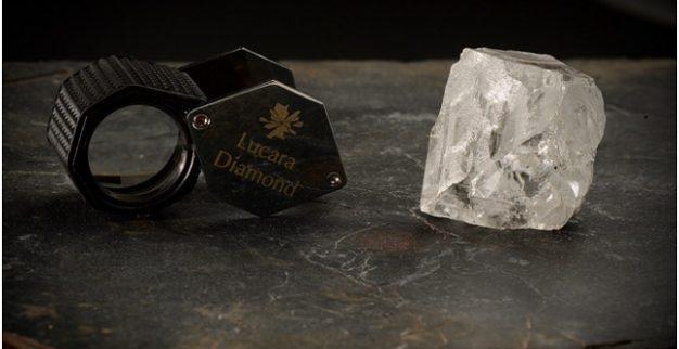 לוקרה יהלום ענק בוצוואנה
