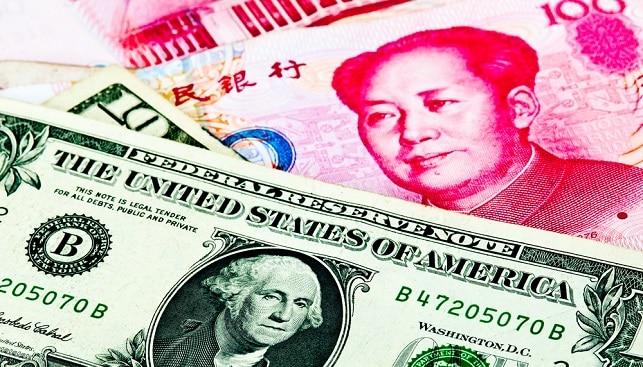 """סין יואן דולר ארה""""ב"""