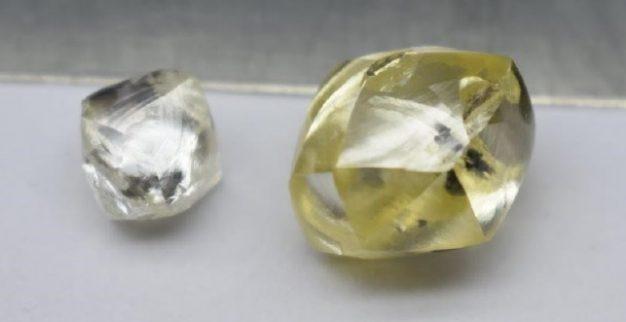 יהלום צהוב יהלומים גדולים