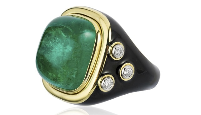 טבעת אמרלד ריקי מרטין