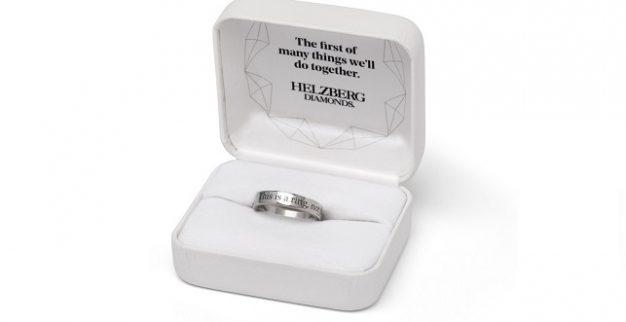טבעת טרום אירוסין יהלומי הלצברג