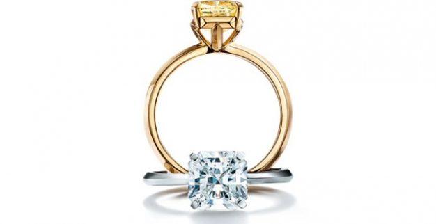 טיפאניס טבעת יהלום