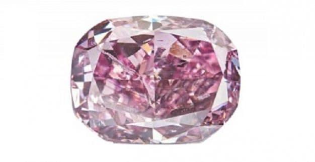 יהלום ורוד סגול אלרוסה