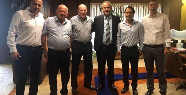 מפגש נשיאים בורסת היהלומים