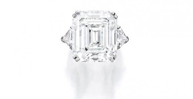 טבעת יהלום אמרלד בונהמס