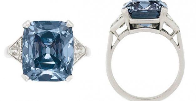 טבעת יהלום כחול בולגרי