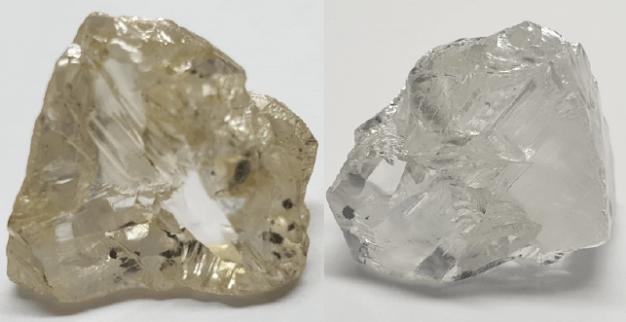 יהלום לבן גדול איכותי