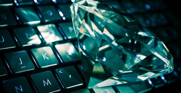 יהלום מחשב יהלומים אינטרנט