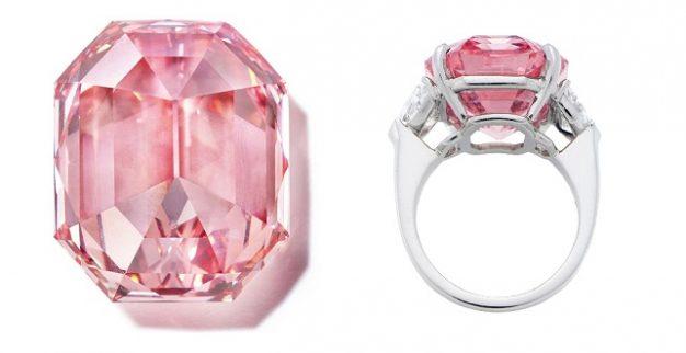 יהלום ורוד pink legacy