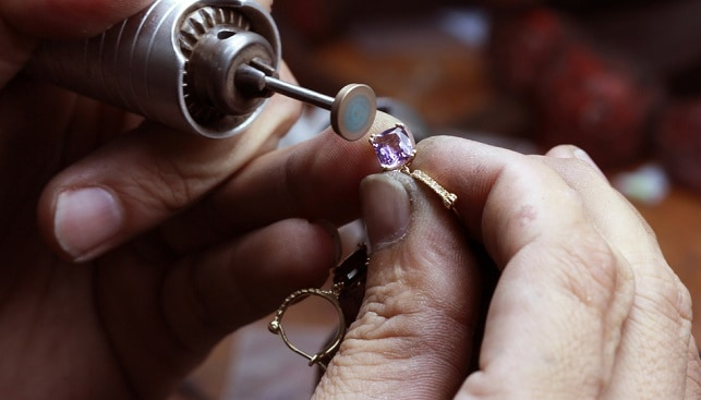 תיקון ליטוש טבעת יהלום