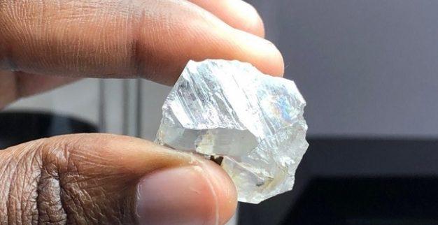 יהלום לבן גדול לוקפה