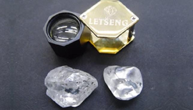 יהלומים גדולים מכרה לטסנג