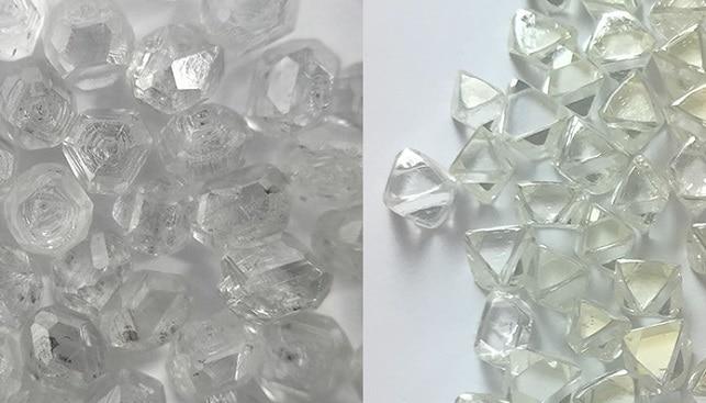 יהלומי מעבדה יהלומים טבעיים
