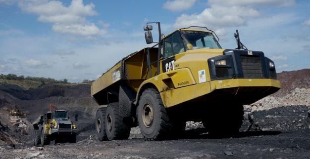 משאית כריית יהלומים זימבבואה