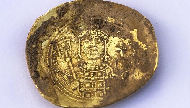 מטבע זהב תגלית קיסריה