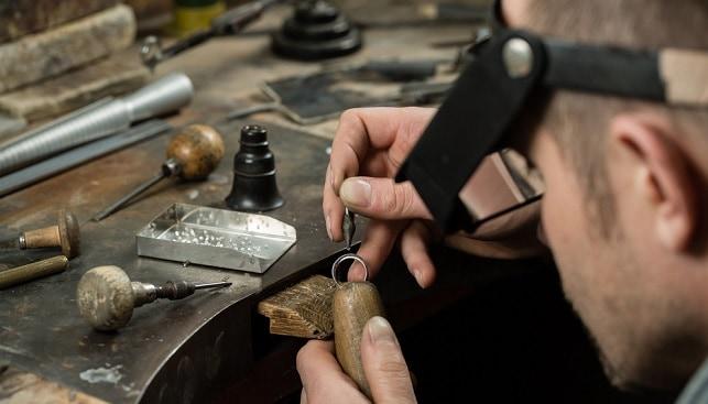 טבעת יהלום ייצור תכשיטים