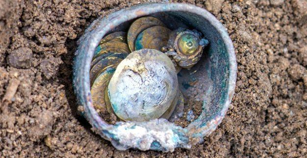 מטמון מטבעות זהב קיסריה