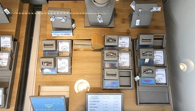 תכשיטים יהלומי מעבדה