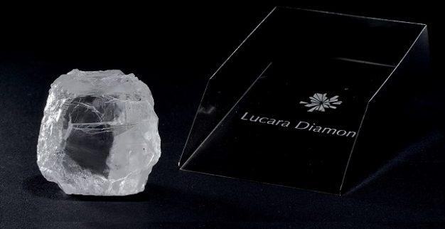 יהלום לבן איכותי בוצוואנה