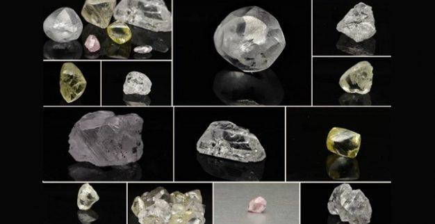 יהלומים לבנים גדולים לוקפה