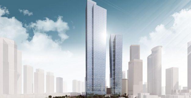 מגדל 120 קומות בורסת היהלומים