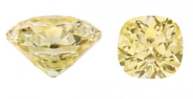 טבעת יהלום צהוב צבעוני