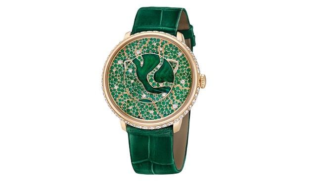 שעון יהלומים יוקרתי פברז'ה