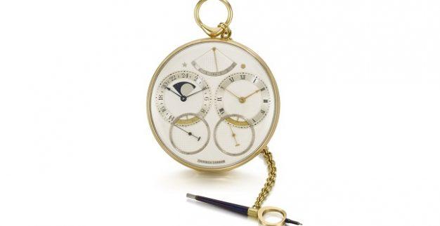 שעון זהב צהוב סותביס
