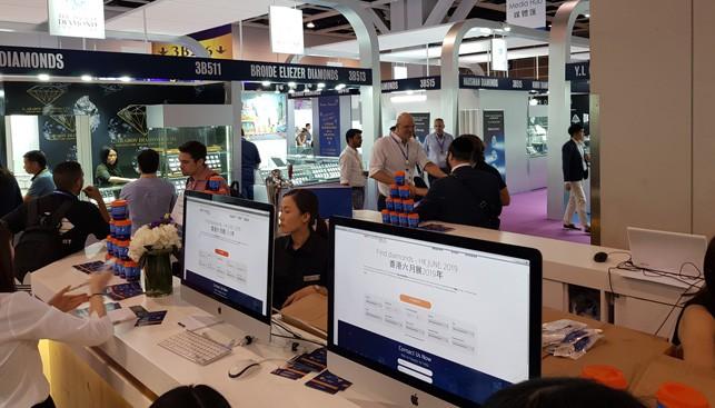 תערוכת הונג קונג יוני 2019 ביתן המכון