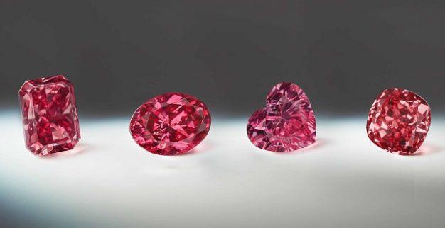 יהלומים אדומים ורודים אוסטרליה