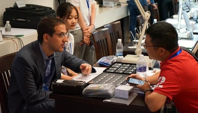 מסחר יהלומים ישראל סין