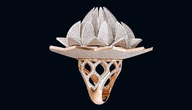 טבעת יהלומים 7,777 גינס