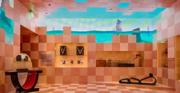 לואי ויטון תערוכה מיוחדת לרגל 160 שנות שיתופי פעולה אמנותיים