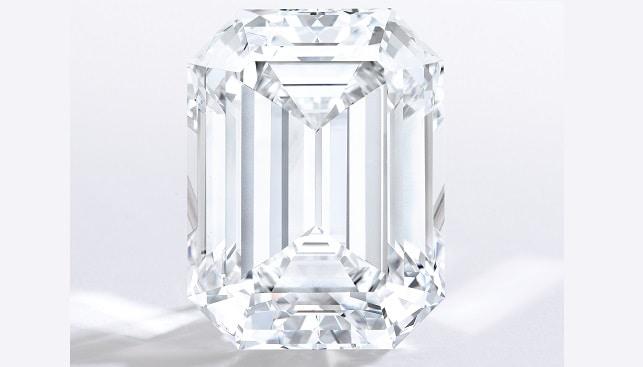 יהלום מלוטש אמרלד 80.88 קרט