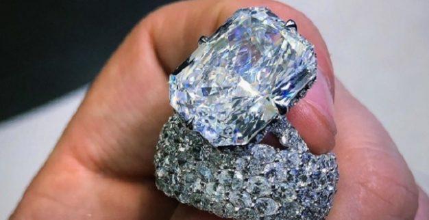 ניקי מינאז' טבעת יהלום