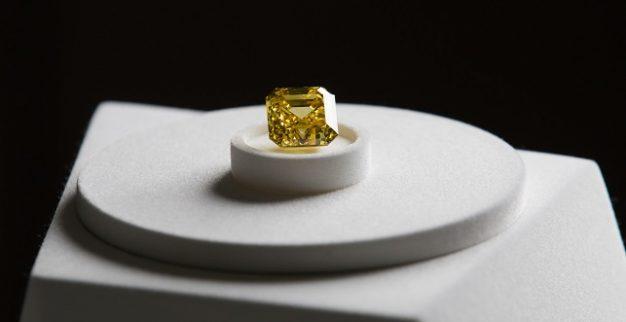 יהלום צהוב אלרוסה גראף